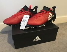online retailer 3dcbc 9b398 Adidas Mens X 16.1 SG Football Boots - Red   Core Black - Size UK 7.5
