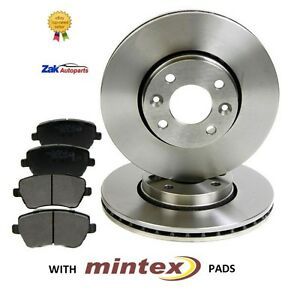 NISSAN-NOTE-1-4-1-5-DCi-1-6-2006-FRONT-BRAKE-DISCS-AND-MINTEX-BRAKE-PADS-SET
