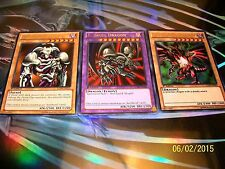 B. Skull Dragon + Red-Eyes B. Dragon + Summoned Skull LCJW Yu-Gi-Oh!