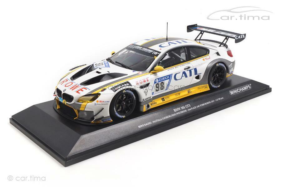 BMW M6 GT3 - 2nd place 24h Nürburgring 2017 - Palttala   Catsburg - Minichamps 1