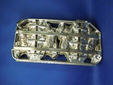 Vintage 4 Rabbits Running Modified Metal Hinge Chocolate Candy Mold Easter Bunny