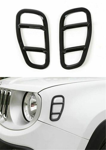Front Side Fender LED Light Lamp Cover Trim for Jeep ...