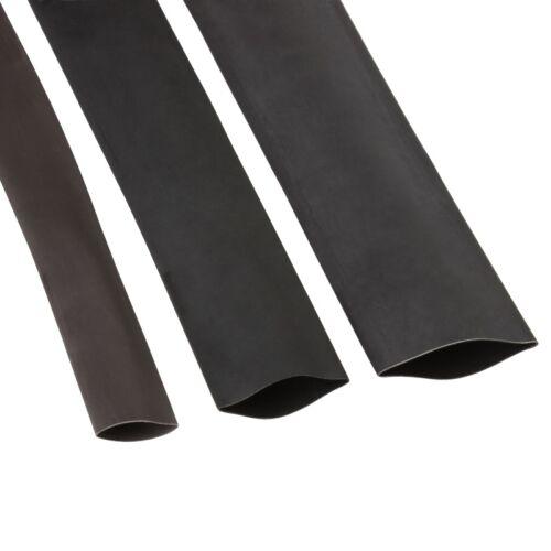 1 m Schrumpfschlauch mit Innenkleber Kleber schwarz 18//6 mm 3:1