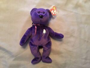 Ty Beanie Baby ~ PRINCESS the (Diana) Bear from 1997 ~ RARE ... 5d95a8a4c1b