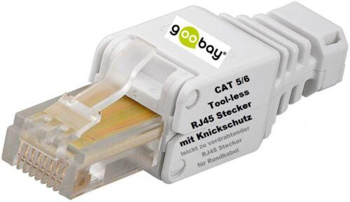 Western connecteur western connecteur CAT 5e 6 outil less flexible /& rigide Câble rj45