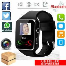 Bluetooth Smart Watch Heart Rate Oxygen Blood Pressure Sport Fitness Tracker US%