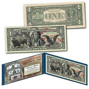 Americana-Images-of-Historical-U-S-Currency-Genuine-Legal-Tender-1-Bill-EAGLE