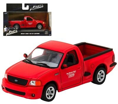 Ford F-150 SVT Lightning Fast /& Furious Brian 1:32 Jada Toys 98320