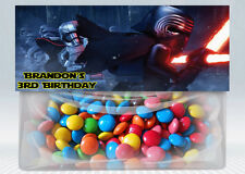 Lego Star Wars Personalized Birthday Treat Bag Topper (Printable) (Digital File)