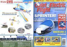 QUIET & ELECTRIC FLIGHT INTERNATIONAL MAGAZINE 2005 NOV HAWK 200 FREE PLAN