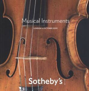 Sotheby's Catalogue Musical Instruments  04/11/2011