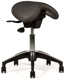 Image is loading New-Saddle-Chair-Dental-Operator-Stool-for-Dentist-  sc 1 st  eBay & New Saddle Chair Dental Operator Stool for Dentist or Hygienist | eBay islam-shia.org