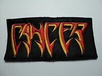 Cancer Logo Embroidered Patch