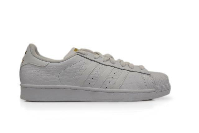 Mens Mens Mens Adidas Superstar - AQ6686 - White trainers aa1d77