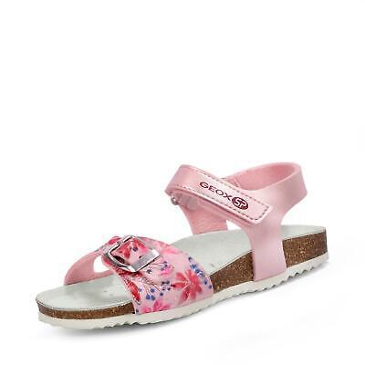 Geox Kinder Mädchen Adriel Sandale Klettsandale Klettschuhe Schuhe rosaweiß   eBay
