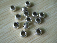 20 x Tibetan Silver Big Hole Spacer Beads Fit European Charm Bracelet Necklace
