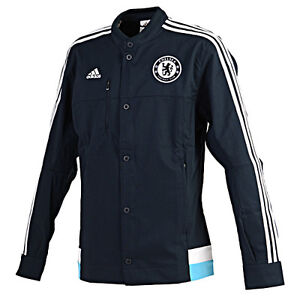 Details about ADIDAS CHELSEA ANTHEM JACKET Obsidian.
