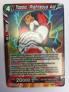 Dragonball-TCG-Toppo-Righteous-Aid-DB1-014-NM