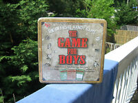 The Game For Boys - The Official Handy Game - Collector's Tin -new & Sealed