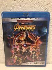 The Avengers: Infinity War (Blu-ray Disc, 2018)