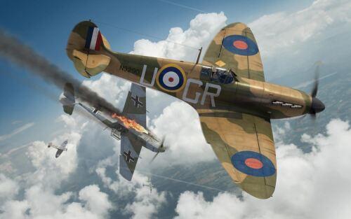 AIRFIX Super Marine Spitfire MkIa 1:72 Model Kit-a01071b