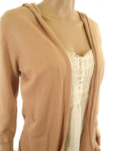 Next Womens Mock Layered Long Waterfall Cardigan /& Strappy Cami Vest Top 6 8 10