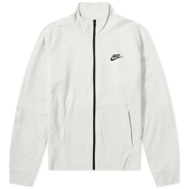 Mens Nike N98 Tribute Jacket Track Top White Cream Black 861648 072 XXL