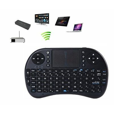 TECLADO INALAMBRICO CON TOUCHPAD RECARGABLE PARA PC/PORTATIL/TV BOX/PS/PROYECTOR