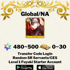 English-Global-NA-Jeanne-d-039-Arc-Alter-Fate-Grand-Order-FGO-Starter-Account