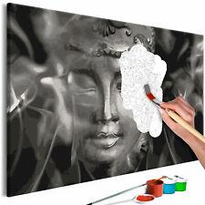 Malset mit Holzrahmen 40x60 Leinwand Erwachsene Gemälde Kit DIY n-A-0300-d-a
