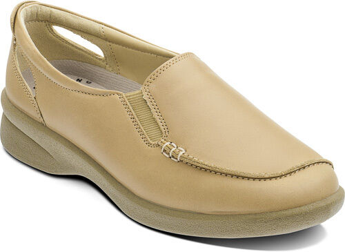 Ladies Padders Bonny Slip on Shoes Biscuit UK4-7 3E//4E Fitting