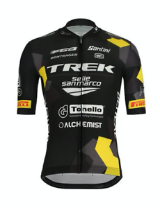 2019 Trek Selle San Marco Para hombre Ciclismo Camiseta por Santini Hecho en Italia