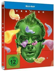 VERTIGO-dal regno dei morti [Blu-Ray Steelbook/Nuovo/Scatola Originale) Alfred Hitchcock