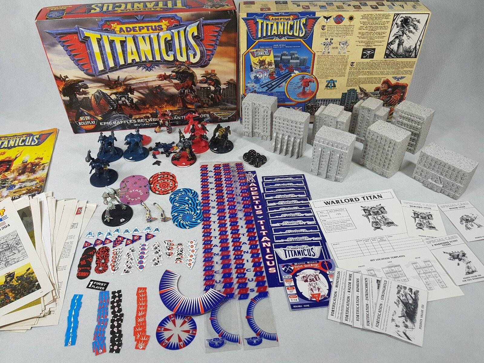 100% precio garantizado Warhammer 40k 1st Edición Épica Adeptus titanicus paquete extras extras extras [1989]  marcas en línea venta barata