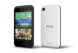 HTC-Desire-320-in-Terra-White-Handy-Dummy-Attrappe-Requisit-Deko-Werbung