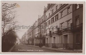Chester-Square-Belgravia-London-RP-Postcard-B763