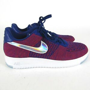Nike Air Force 1 Ultra Flyknit Low Olympic Red White Usa 826577-601 ... 96912f0bb