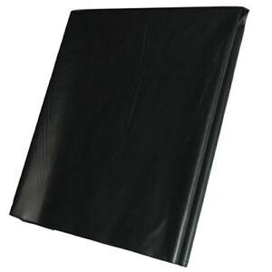 2M X 7M 500G Black Heavy Duty Polythene Plastic Building Dust Rubble Sheet DIY