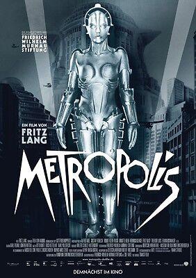 Metropolis Fritz Lang 1927 vintage style movie poster print B11