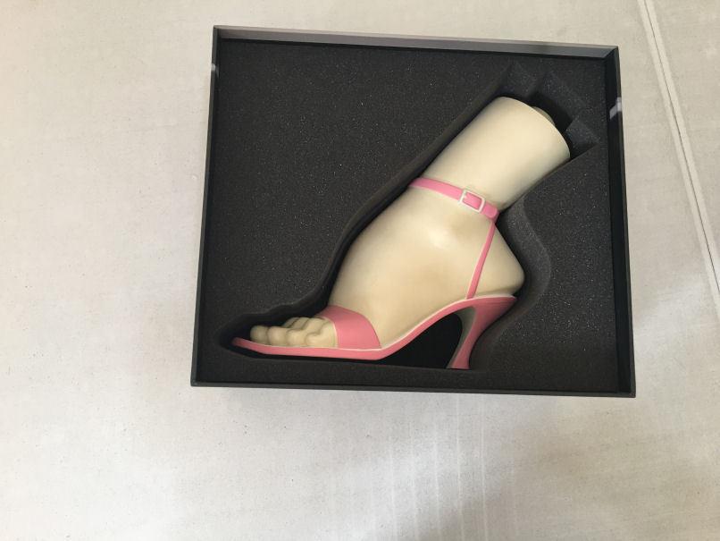ThreeA Lauren Prom Night Disagreement (Pink) 3A 1 1 Severed Vinyl Feet