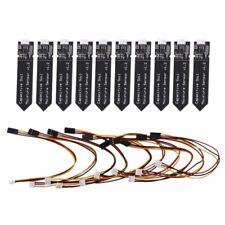10pcs Capacitive Soil Moisture Sensor Module Corrosion Resistant Wide Voltage