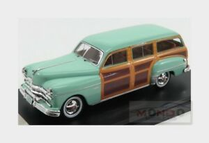Dodge-Coronet-Woody-Wagon-1949-Light-Green-Wood-PREMIUM-X-1-43-PRD564