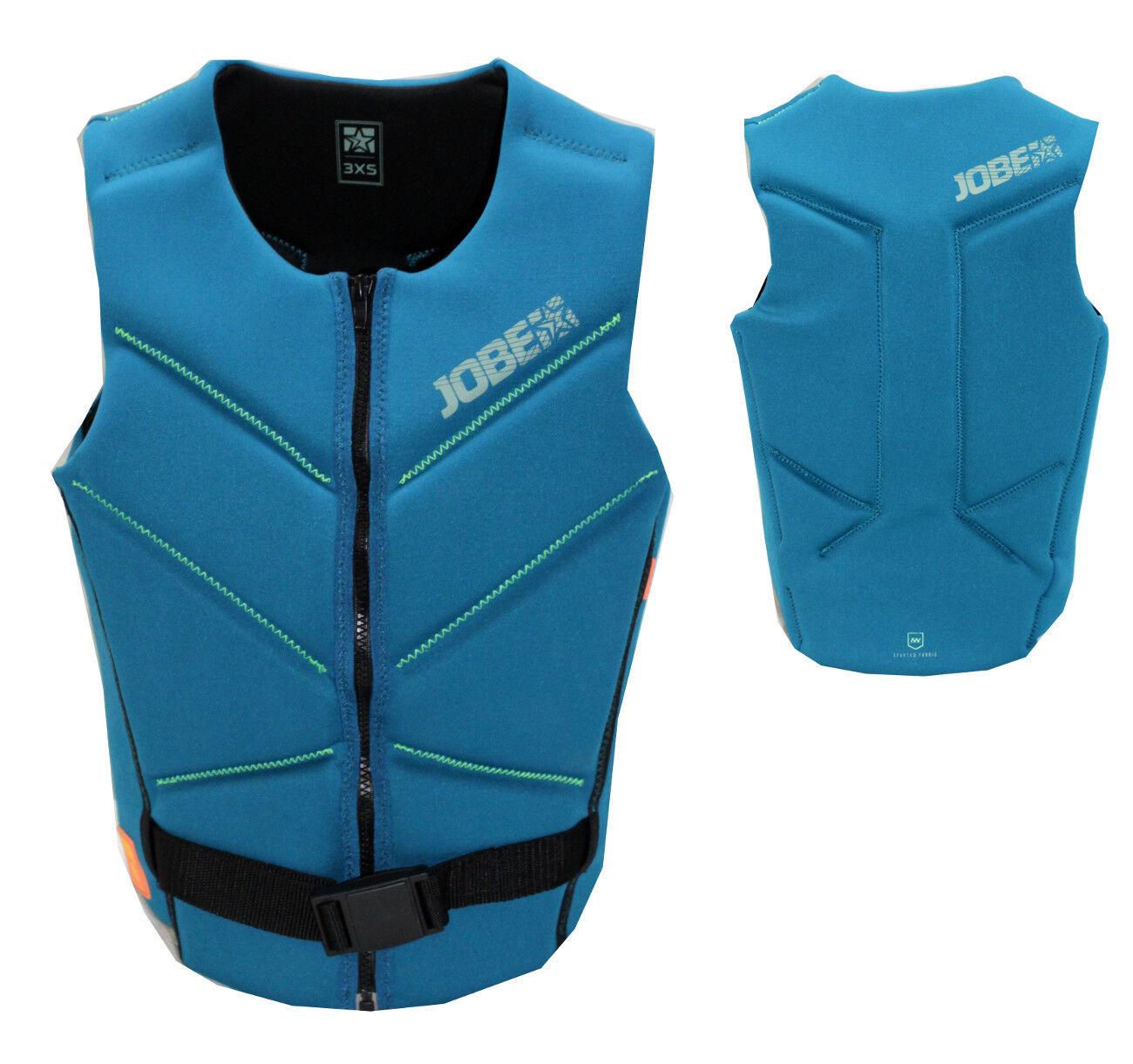 Jobe 3 D Comp Vest Teal Men NEU Wakeboarden Weste Männer Surfen Kiten G-7-9