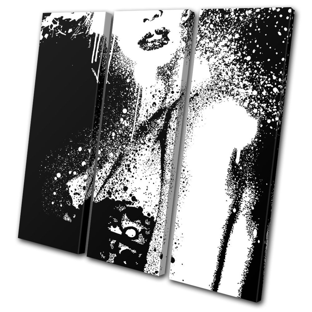 Abstract Grunge pared Fashion TREBLE LONA pared Grunge arte Foto impresion c72285