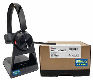 Plantronics-Savi-7210-Office-Wireless-Headset-213010-01-S7210-D-Brand-New
