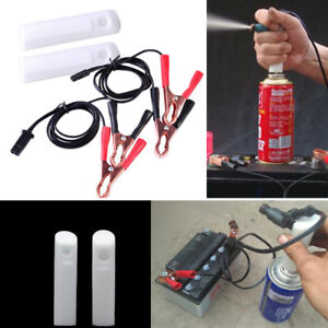 Details about Auto Car Vehicles Tool Universal Fuel Injector Flush Cleaner  Adapter DIY Kit Set