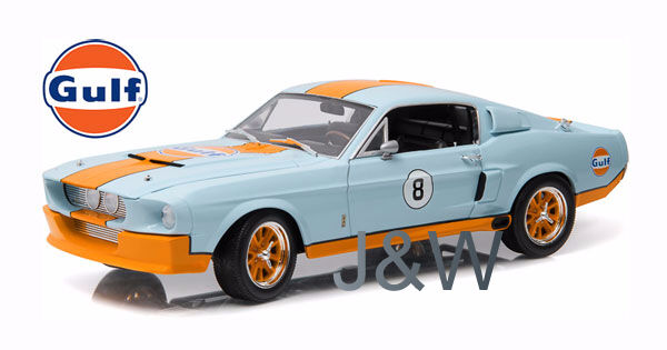 Greenlight Shelby GT500 1967 Racing Gulf Oil 1 18 12954