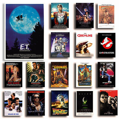 CLASSIC MOVIES Poster Options A4 80s 90s Film Home Wall Art Print Valentines Day