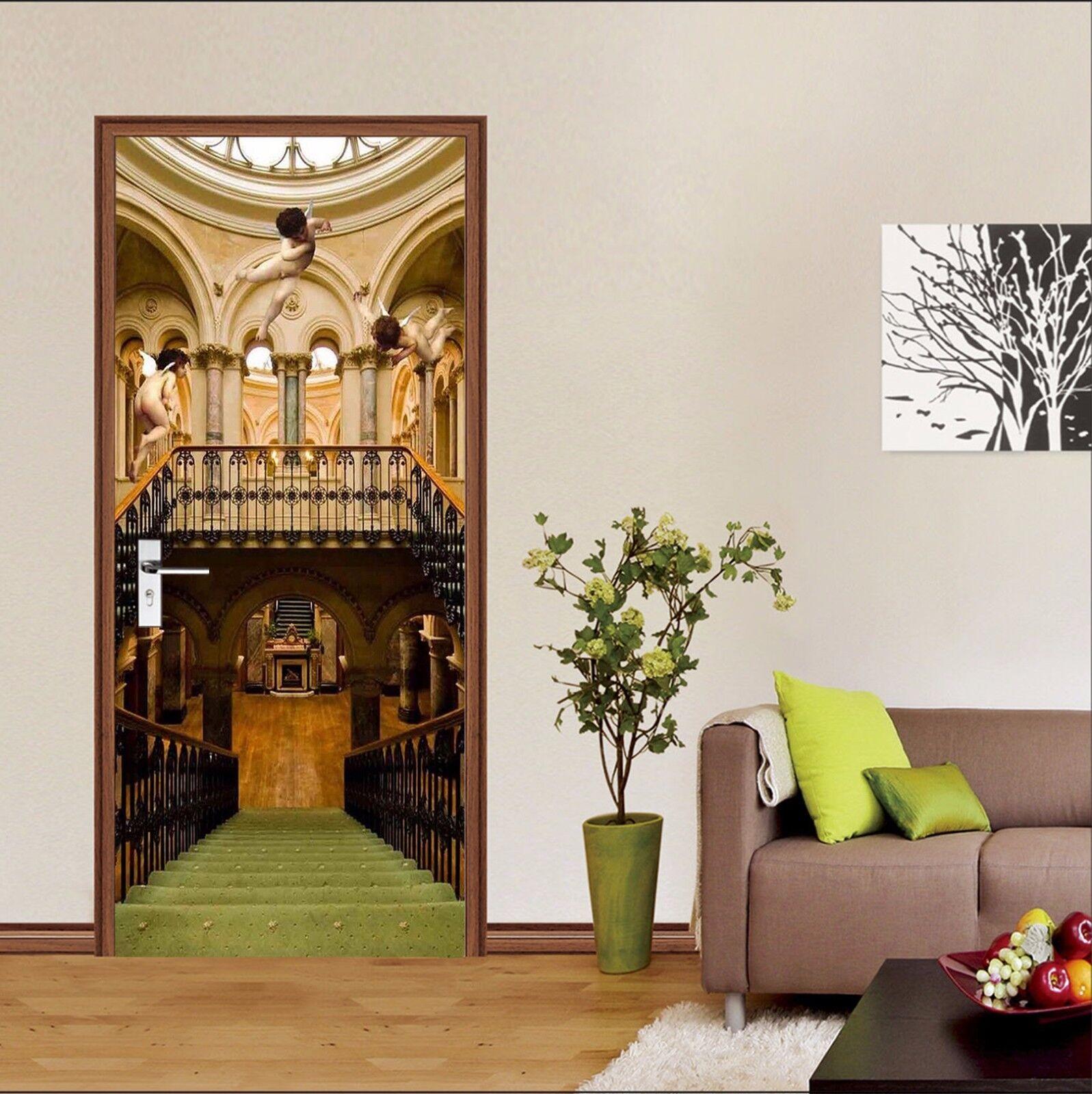 3D Engel 742 Tür Wandmalerei Wandaufkleber Aufkleber AJ WALLPAPER DE Kyra