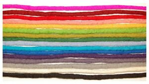 Multi-coloured-dreadlocks-Handmade-felted-wool-dreads-pick-you-own-colours
